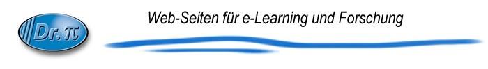 Dr. PI Websiten fuer e-Learning und Forschung